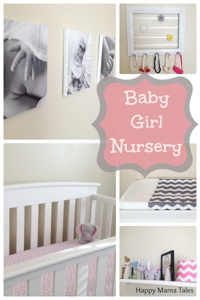 lot of diy projects in this room which made this baby girl nursery